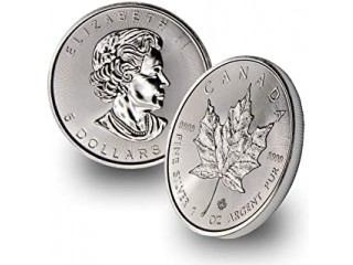 Silver Maple Leaf Silver Coin South Bend, IN